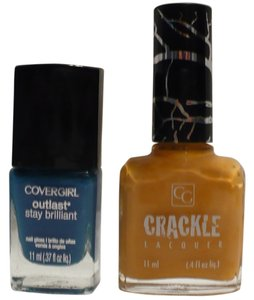 COVERGIRL Cover Girl OUT OF THE BLUE + JACK-O-LANTERN CRACKLE Nail Polish