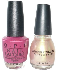 OPI Sinful Colors JUST YOU WAIT + O P I (unknown color)