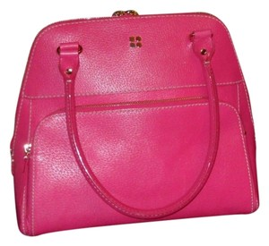 Kate Spade Boar Skin Leather Tote in PINK