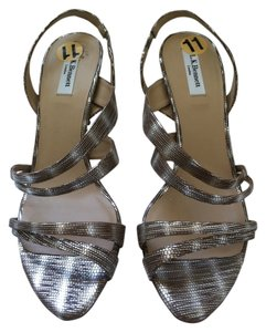 L.K. Bennett Metallic Silver Formal