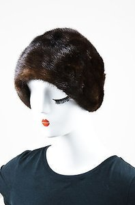 Bonwit Teller Bonwit Teller Dark Brown Mink Fur Hat