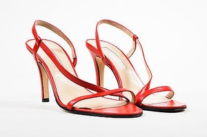Michael Kors Leather Red Sandals