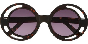 House of Holland Annice round-frame acetate sunglasses
