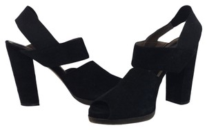 Marni Suede Black Pumps