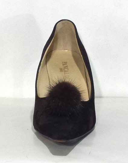 Pancaldi Suede Brown Pumps