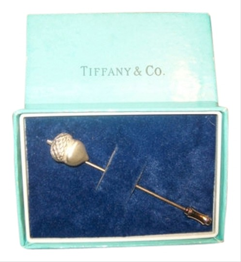 Tiffany & Co. Authentic Tiffany & Co. Sterling Silver Acorn Stick Pin Brooch