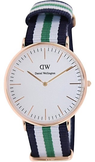 Daniel Wellington Daniel Wellington Male Nottingham Watch 0108DW Rose Gold
