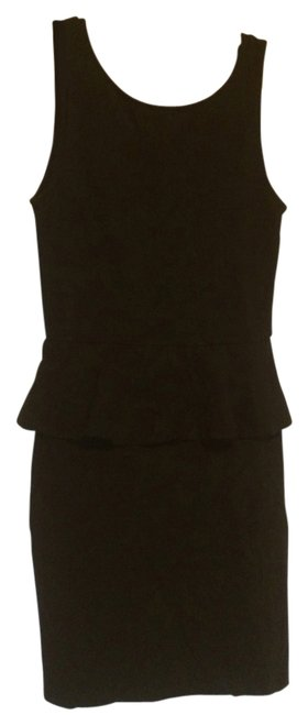 Zara short dress Black on Tradesy