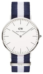 Daniel Wellington Daniel Wellington Male Classic Glasgow Watch 0204DW Silver
