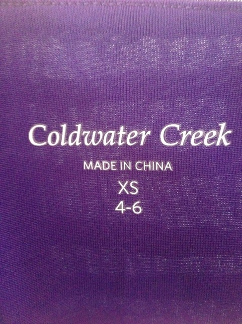 Coldwater Creek T Shirt Purple