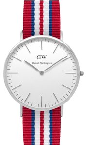 Daniel Wellington Daniel Wellington Male Exeter Watch 0212DW Silver Analog