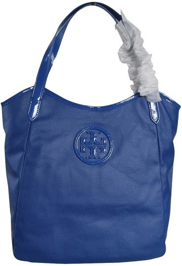 Tory Burch Canvas Jelly Tote in Blue