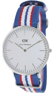 Daniel Wellington Daniel Wellington Male Belfast Watch 0213DW Silver Analog