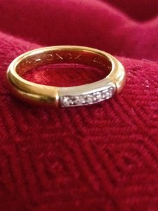 18kt Gold Yellow Ring Women's Wedding Band