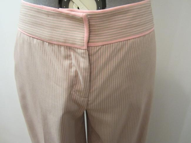 Express Wide Leg Pants Pink and tan