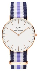 Daniel Wellington Daniel Wellington Female Trinity Watch 0509DW Rose Gold Analog