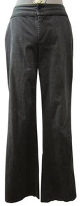 Calvin Klein Trouser Pants Blue with Black stripes