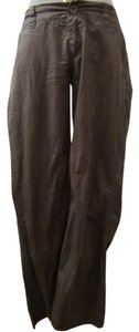 Zara Relaxed Pants Brown