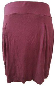 Club Monaco Mini Skirt Plum