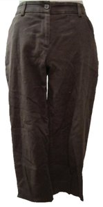 Ann Taylor Capris Brown