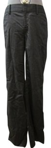 Club Monaco Trouser Pants Grey and white pinstripe