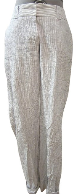 Item - White and Blue Pinstripe Not Sure Pants Size 2 (XS, 26)