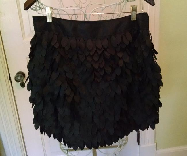Kardashian Kollection Mini Skirt Black
