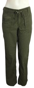 The North Face North Face Olive Green Casual Pants Womens Regular