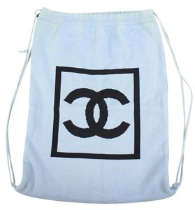 Chanel Bookbag Knapsack Schoolbag Gym Backpack