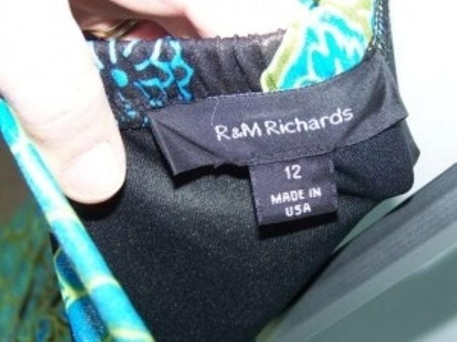 R & M Richards short dress MULTI COLOR on Tradesy