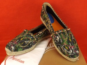 Christian Louboutin Black/Light Gold(Multi Color) Flats