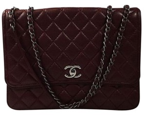 Chanel Single Flap Quilted Shoulder Bag