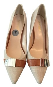 Nine West Tan Brown Formal