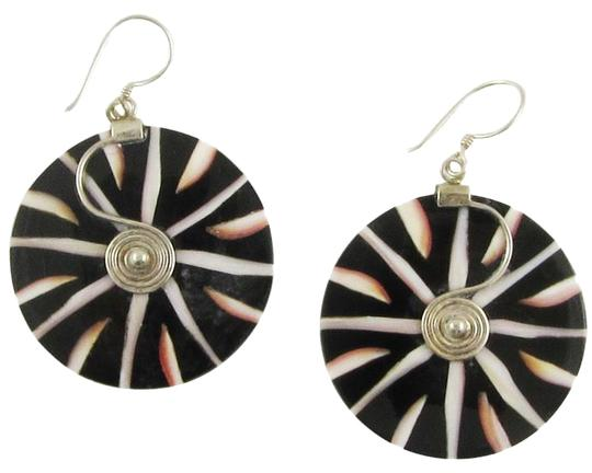 Preload https://item4.tradesy.com/images/island-silversmith-mosaic-cone-shell-925-sterling-silver-earrings-0101f-1367718-0-1.jpg?width=440&height=440