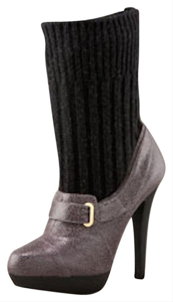 ac420d94a10 Stella McCartney Gray Sock Ankle 40 Platform Italy Boots Booties ...
