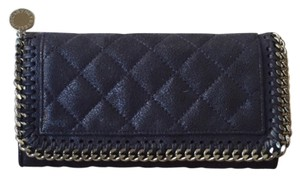 Stella McCartney Quilted Shaggy Deer Wallet