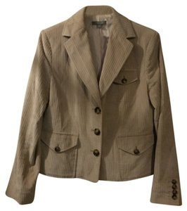 Ann Taylor light tan Blazer