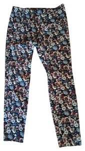 Zara Straight Pants Floral