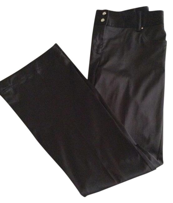 Tracy evans Straight Pants Black