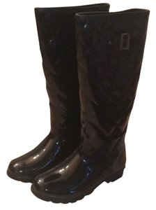 Banana Republic Black Rain Boots