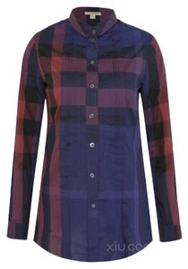Burberry Brit Button Down Shirt indigo