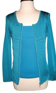 Cache Top Turquoise