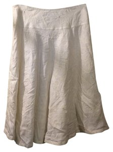 Ann Trinity Skirt white