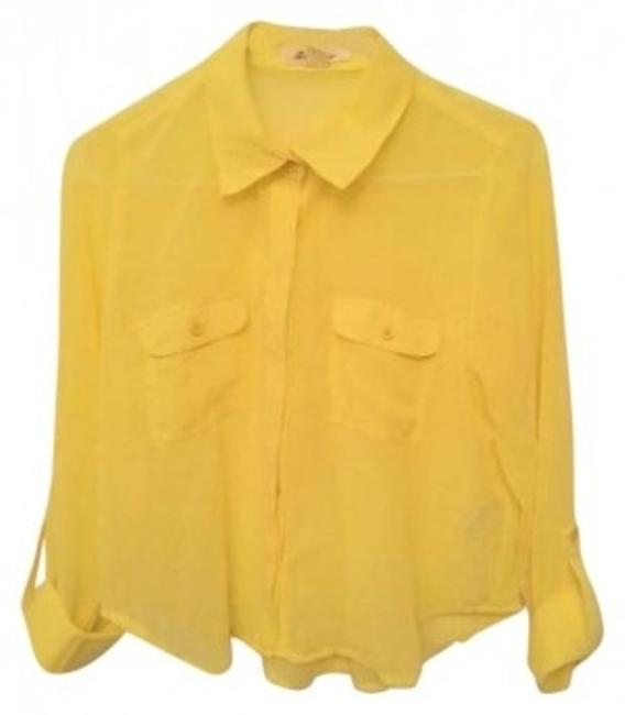 Preload https://item2.tradesy.com/images/forever-21-yellow-chiffon-button-down-top-size-4-s-136796-0-0.jpg?width=400&height=650