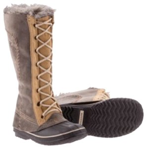 Sorel Grey and tan Boots