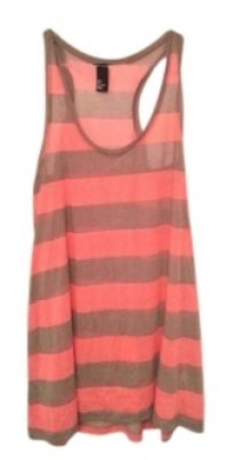Preload https://img-static.tradesy.com/item/136803/h-and-m-coral-and-grey-oversize-stripe-tank-topcami-size-0-xs-0-0-650-650.jpg