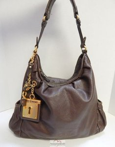 Juicy Couture Pebbled Hobo Bag