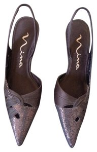 Nina Shoes Brown Formal