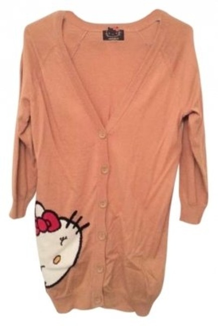Preload https://item3.tradesy.com/images/forever-21-chesnut-hello-kitty-cardigan-size-4-s-136812-0-0.jpg?width=400&height=650