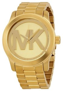 Michael Kors Michael Kors Quartz Gold-tone Bracelet Champagne Dial Ladies Watch MK5473